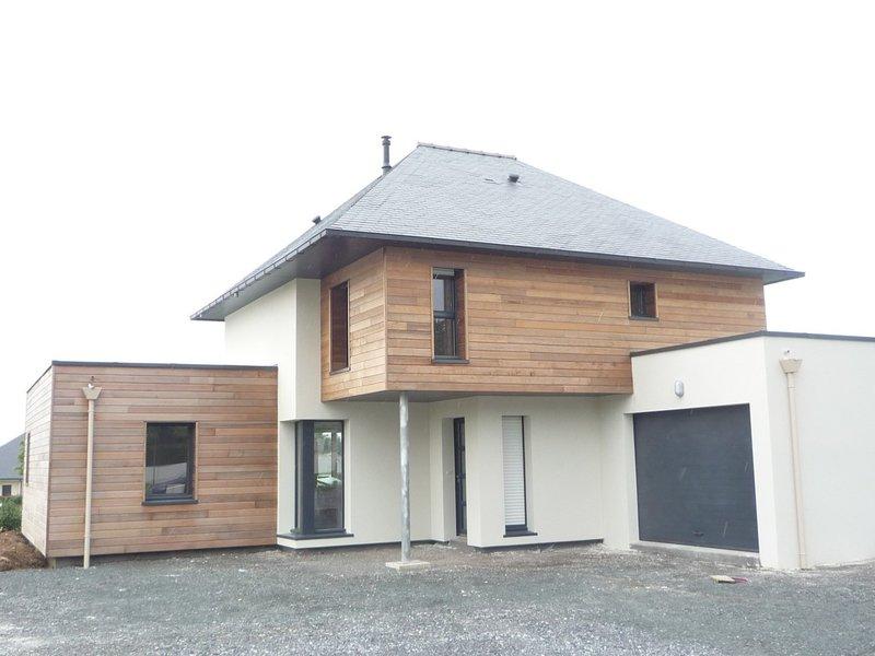 Construction murs bois chateaubriant 44 for Construction bois 44