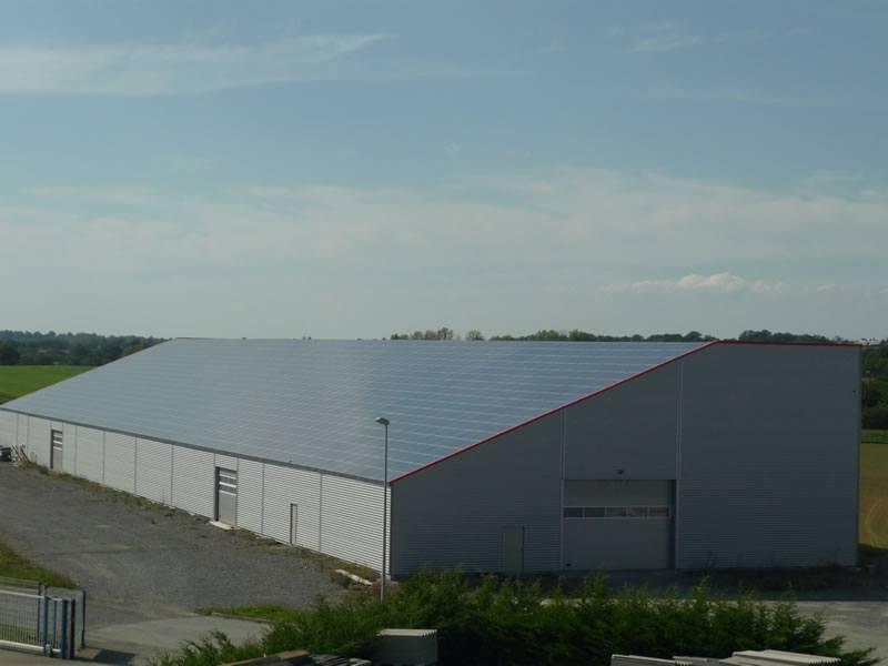 construction hangar de stockage martigne ferchaud 35 ille et vilaine. Black Bedroom Furniture Sets. Home Design Ideas