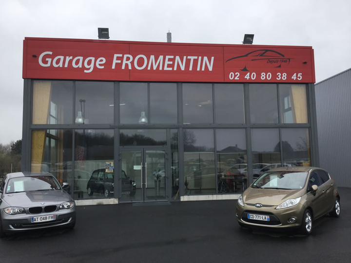 Construction garage la meilleraye de bretagne 44 for Garage ford loire atlantique