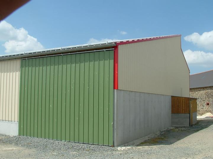 construction hangar de stockage visseiche 35 ille et vilaine. Black Bedroom Furniture Sets. Home Design Ideas
