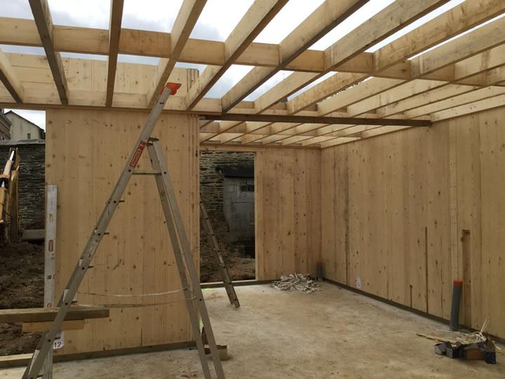Construction murs bois janze 35 ille et vilaine for Construction bois 35