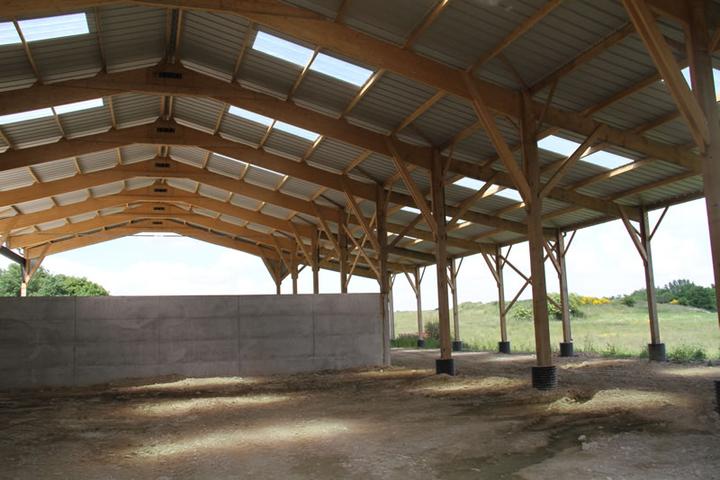 construction hangar de stockage messac 35 ille et vilaine. Black Bedroom Furniture Sets. Home Design Ideas