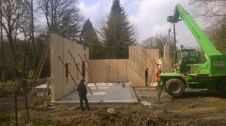 Construction murs bois messac 35 ille et vilaine for Construction bois 35